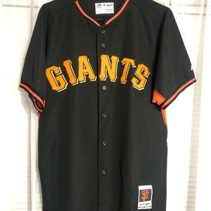 Giants jersey majestic 44